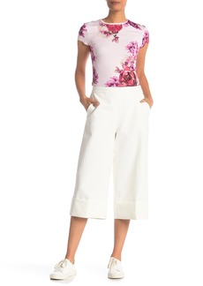 Ted Baker Wide Leg Cuff Detail Culottes