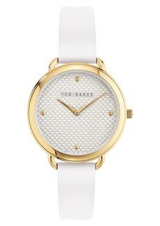 Ted Baker Women's Hettie Leather Strap Watch, 37mm