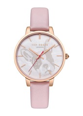 Ted Baker Women's Kate Analog Quartz Leather Strap Watch, 38mm