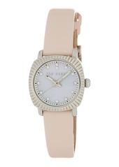 Ted Baker Women's Mini Jewels Leather Watch, 26mm