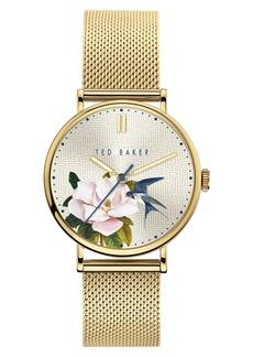Ted Baker Women's Phylipa Flowers Bracelet Bracelet Watch, 37mm