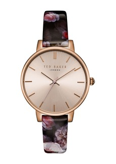 Ted Baker Women's Quartz Leather Strap Watch