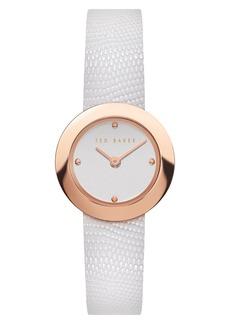 Ted Baker Women's Seerena Leather Strap Watch, 24mm