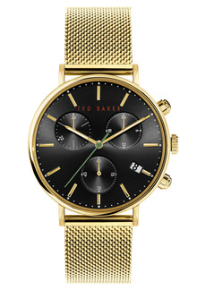 Men's Ted Baker London Mimosaa Chronograph Mesh Strap Watch