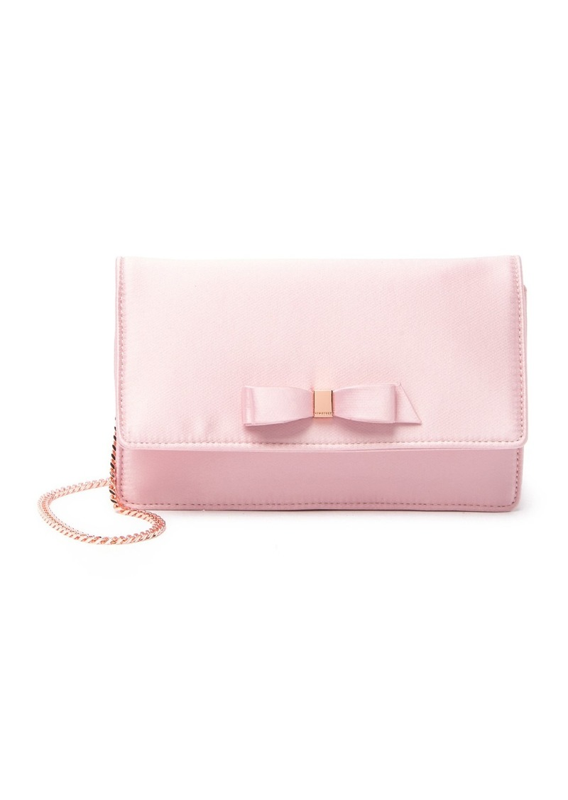 Ted Baker Zandra Satin Bow Evening Bag