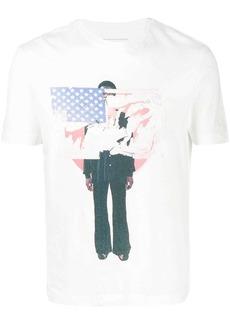 Telfar graphic print crewneck T-shirt