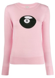 Temperley 8 ball knitted top