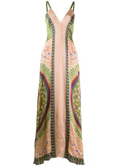 Temperley Arabesque strappy dress