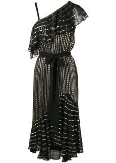 Temperley asymmetrical ruffle dress