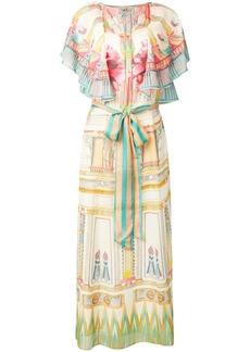 Temperley Athena printed kaftan dress
