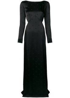 Temperley Betty slit maxi dress