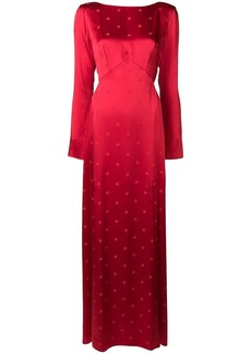 Temperley Betty split dress