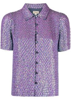 Temperley Billie sequin shirt