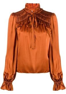 Temperley Birdie ruffled blouse