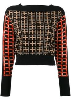Temperley checkered jumper