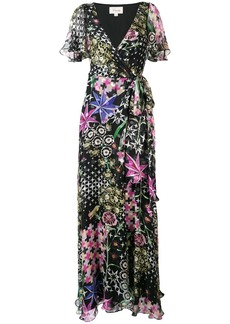 Temperley Claudette wrap dress