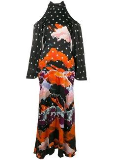 Temperley Cloud long evening dress