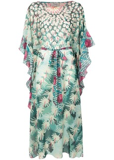 Temperley Cote Cacti kaftan dress