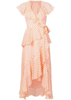 Temperley dot printed dress