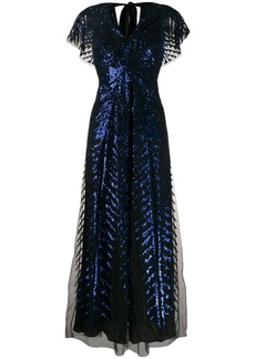 Temperley Dusk sequinned tulle gown