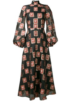Temperley Elinor long sleeved dress