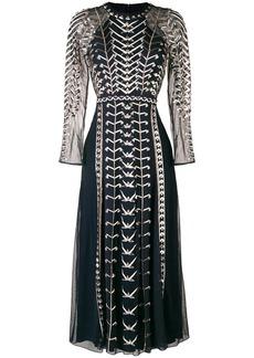 Temperley embellished cutout evening dress