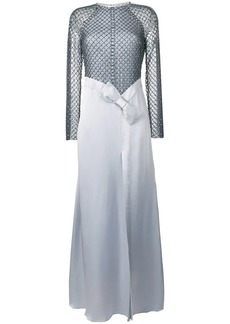 Temperley Emblem long dress