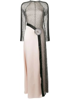 Temperley Emblem panelled dress