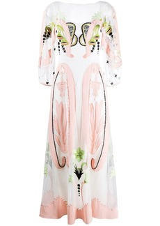 Temperley Florette embroidered dress