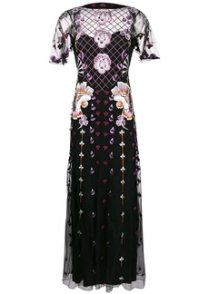 Temperley embroidered maxi dress