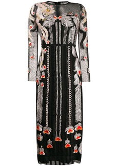 Temperley embroidered tulle dress