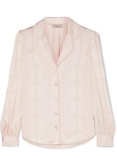 Temperley Erika Satin-jacquard Shirt