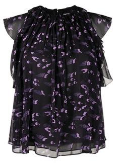 Temperley Ethel ruffled blouse