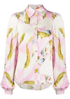 Temperley floral-print shirt