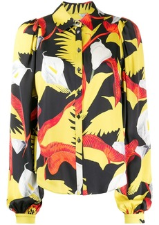 Temperley floral print shirt