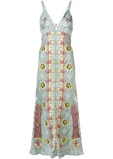 Temperley Flux printed slip dress