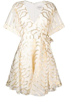 Temperley geometric printed dress