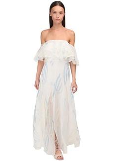 Temperley Georgette & Lurex Dress