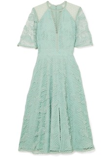 Temperley Haze Guipure Lace And Tulle Dress