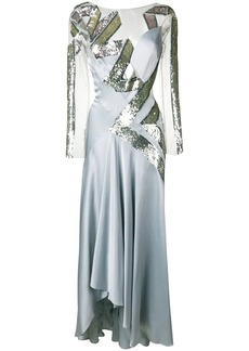 Temperley Insignia sequin dress