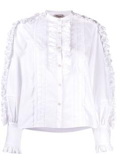 Temperley Jade folded-ruffle shirt