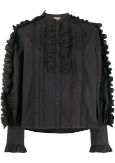 Temperley Jade ruffle detail shirt