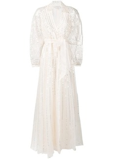 Temperley Jet evening dress