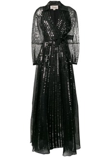 Temperley Jet sequin dress