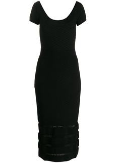 Temperley Kasha knit dress