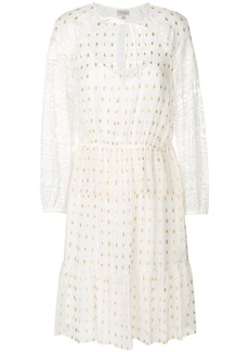 Temperley lace sleeves dress