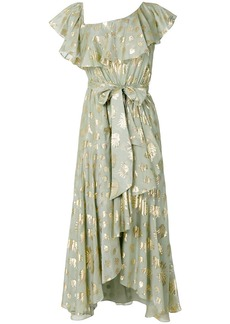 Temperley leaf print dress