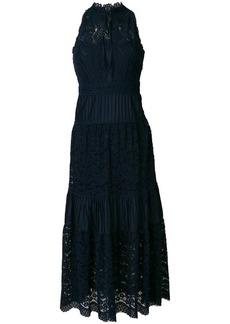 Temperley Lunar lace-detail midi dress