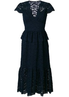 Temperley Lunar lace-embroidered midi dress
