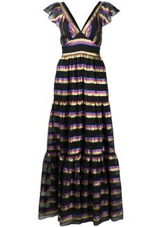 Temperley Melina tiered maxi dress